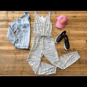 Boutique Grey Jumpsuit